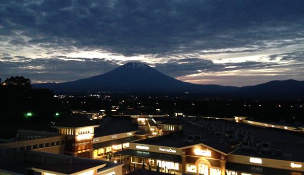 御殿場 夏の富士山